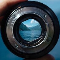 lens and water